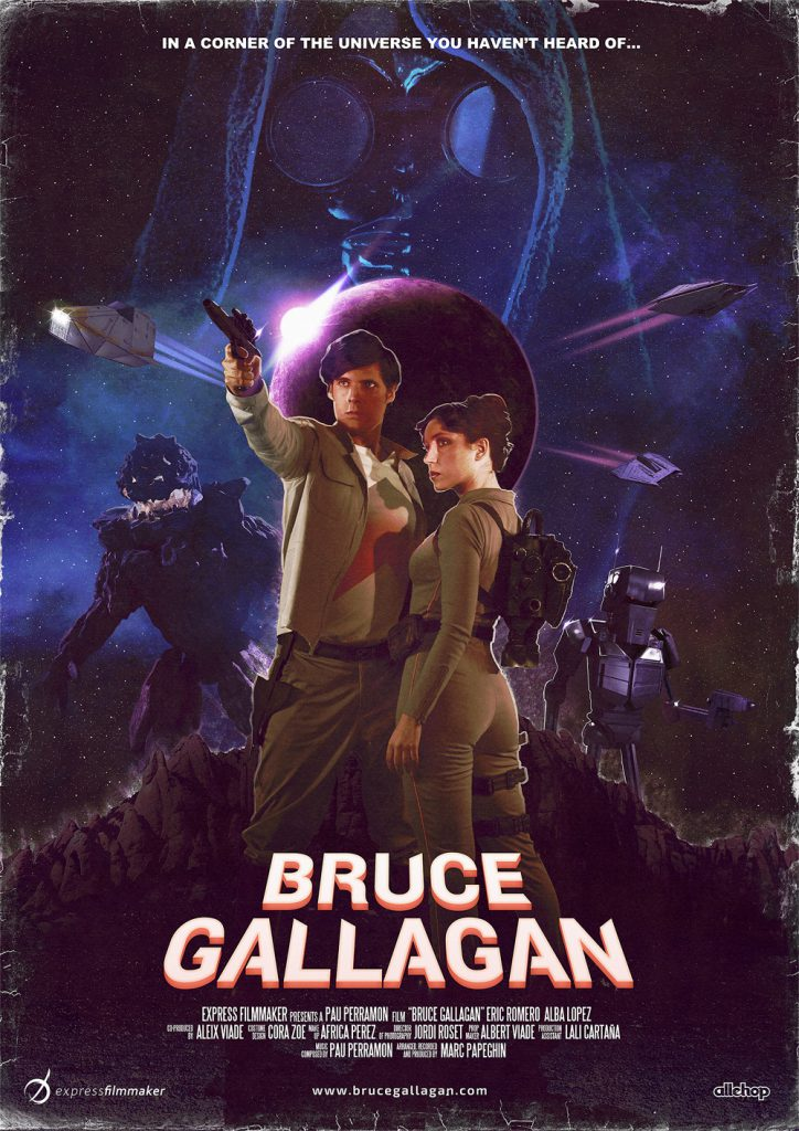 Bruce Gallagan movie poster