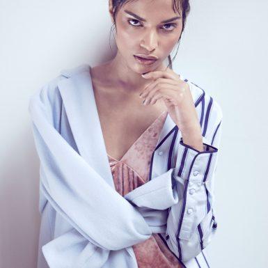 female portrait model